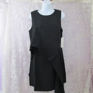 Eliza J Sleeveless asymmetrical Shift Dress 8 NWT